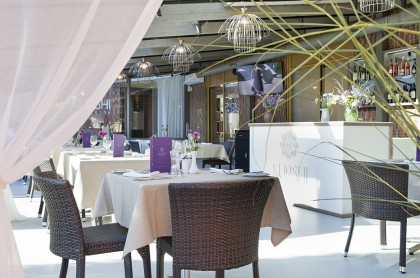 Restaurant interior Jurmala